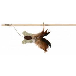 Trixie Canne à pêche Papillon pour Chat - La Compagnie Des Animaux