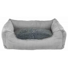 Trixie Lit chauffant gris 80 × 55 cm