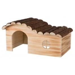 Trixie Natural Living Maison Hanna en bois flammé Chinchillas et Cochons d'inde - La Compagnie Des Animaux