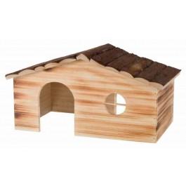 Trixie Natural Living Maison Ragna en bois flammé Cochons d'inde et Lapins - La Compagnie Des Animaux