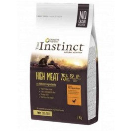 True Instinct High Meat volailles chat 7 kg - La Compagnie Des Animaux