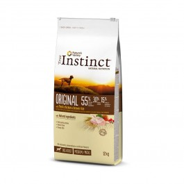 True Instinct Original Medium Maxi Adult Poulet 12 kg - La Compagnie Des Animaux