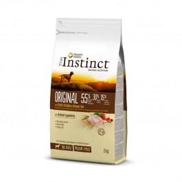 True Instinct Original Medium Maxi Adult Poulet 2 kg - La Compagnie Des Animaux