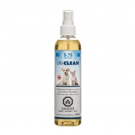 Uri-Clean Spray contre les odeurs d'urines animales 250 ml - La Compagnie Des Animaux