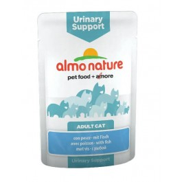 Almo Nature Chat Urinary Support Poisson 30 x 70 grs - La Compagnie Des Animaux