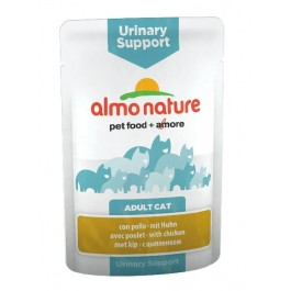 Almo Nature Chat Urinary Support Poulet 30 x 70 grs - La Compagnie Des Animaux