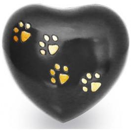 Urne funéraire Coquelicot en cuivre pour animal de 10 à 20 kg - La Compagnie Des Animaux