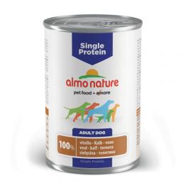 Almo Nature Chien Single Protein Veau 24 x 400 grs - La Compagnie Des Animaux