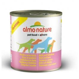 Almo Nature Chien Classic Veau et jambon 12 x 280 grs - La Compagnie Des Animaux