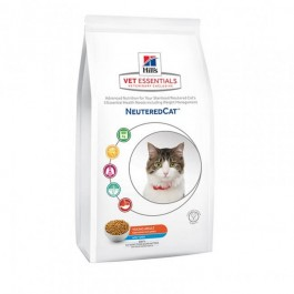 Hill's VetEssentials Neutered Cat Young Adult Thon 1.5 kg - La Compagnie Des Animaux