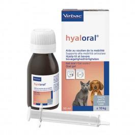 Virbac HYALORAL pour chat et chien <10 kg 50 ml- La Compagnie des Animaux