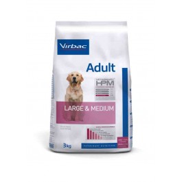 Virbac Veterinary HPM Adult Large & Medium Dog 3 kg - La Compagnie Des Animaux