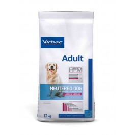 Virbac Veterinary HPM Adult Neutered Large & Medium Dog 12 kg - La Compagnie Des Animaux