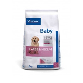 Virbac Veterinary HPM Baby Large & Medium Dog 3 kg - La Compagnie Des Animaux