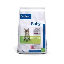 Virbac Veterinary HPM Baby Pre Neutered Cat 3 kg - La Compagnie Des Animaux
