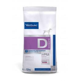 Virbac Veterinary HPM Dermatology Support Chien 12 kg - La Compagnie Des Animaux