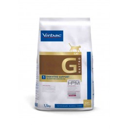 Virbac Veterinary HPM Gastro Digestive Support chat 1.5 kg - La Compagnie Des Animaux