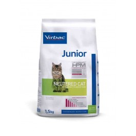 Virbac Veterinary HPM Junior Neutered Cat 1.5 kg - La Compagnie Des Animaux