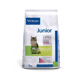 Virbac Veterinary HPM Junior Neutered Cat 3 kg - La Compagnie Des Animaux