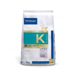 Virbac Veterinary HPM Kidney Support pour Chat 3 kg - La Compagnie Des Animaux