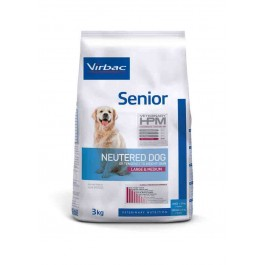 Virbac Veterinary HPM Senior Neutered Large & Medium Dog 3 kg - La Compagnie Des Animaux