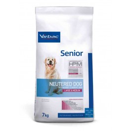 Virbac Veterinary HPM Senior Neutered Large & Medium Dog 7 kg - La Compagnie Des Animaux