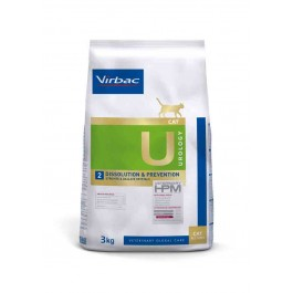 Virbac Veterinary HPM Urology Dissolution & Prevention chat 3 kg - La Compagnie Des Animaux