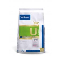 Virbac Veterinary HPM Urology Struvites Dissolution Chat 3 kg - La Compagnie Des Animaux