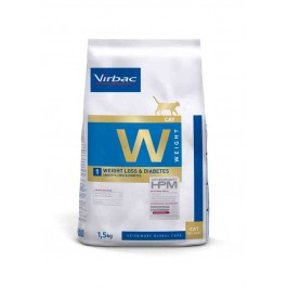 Virbac Veterinary HPM Weight Loss & Diabetes chat 1.5 kg - La Compagnie Des Animaux