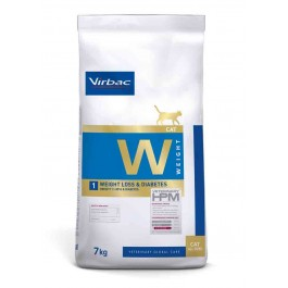 Virbac Veterinary HPM Weight Loss & Diabetes chat 7 kg - La Compagnie Des Animaux