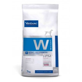 Virbac Veterinary HPM Weight Loss & Diabetes Chien 7 kg - La Compagnie Des Animaux