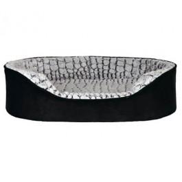 Trixie Vital lit Lino 110 × 92 cm noir/gris - La Compagnie Des Animaux