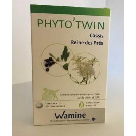 Wamine Phyto'Twin Cassis Reine des Près 30 cps - La Compagnie Des Animaux