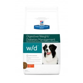 Hill's Prescription Diet Canine W/D au poulet 4 kg - La Compagnie Des Animaux