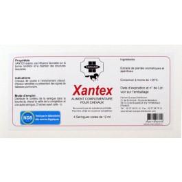 Xantex voies respiratoires du Cheval 4 x 12 ml - La Compagnie Des Animaux
