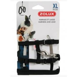Zolux Kit Harnais petit mammifère casual noir XL - La Compagnie Des Animaux