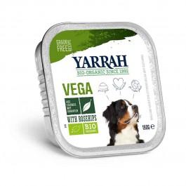 Yarrah Bio Bouchées végétariennes aux églantiers pour chien 12 x 150 g - La Compagnie Des Animaux