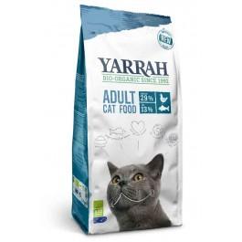 Yarrah Bio Croquettes au poisson MSC pour chats 10 kg - La Compagnie Des Animaux