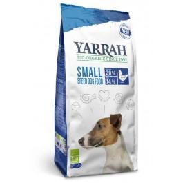 Yarrah Bio Croquettes au poulet petites races pour chien 2 kg - La Compagnie Des Animaux