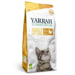 Yarrah Bio Croquettes au poulet pour chat 10 kg - La Compagnie Des Animaux