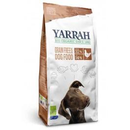 Yarrah Bio Croquettes sans céréales (Grain Free)  au poulet pour chien 2 kg - La Compagnie Des Animaux