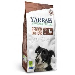 Yarrah Bio Croquettes Senior au poulet et poisson avec herbes pour chien 10 kg - La Compagnie Des Animaux
