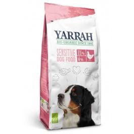 Yarrah Bio Croquettes Sensitive au poulet pour chien 10 kg - La Compagnie Des Animaux