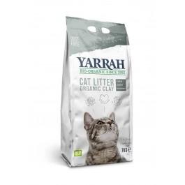 Yarrah Bio Litière agglomérante pour chats 7 kg - La Compagnie Des Animaux