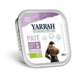Yarrah Bio Pâté de dinde à l'aloe vera pour chien 14 x 150 grs - La Compagnie Des Animaux