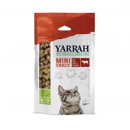 Yarrah Mini snack Bio pour chat 50 g - La Compagnie Des Animaux