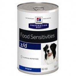 Hill's Prescription Diet Canine Z/D Ultra Allergen 12 x 370 grs - La Compagnie Des Animaux