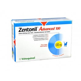 Zentonil Advanced 100 mg 30 cps - La Compagnie Des Animaux
