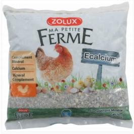 Zolux ECalcium pour poule 2 kg - La Compagnie Des Animaux
