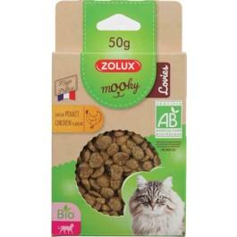Zolux Friandises Kitty Lovies Bio au lait 50 g - La Compagnie Des Animaux